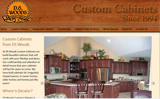DS Woods Custom Cabinets